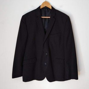 Kenneth Cole Reaction Black men Blazer Two Buttons